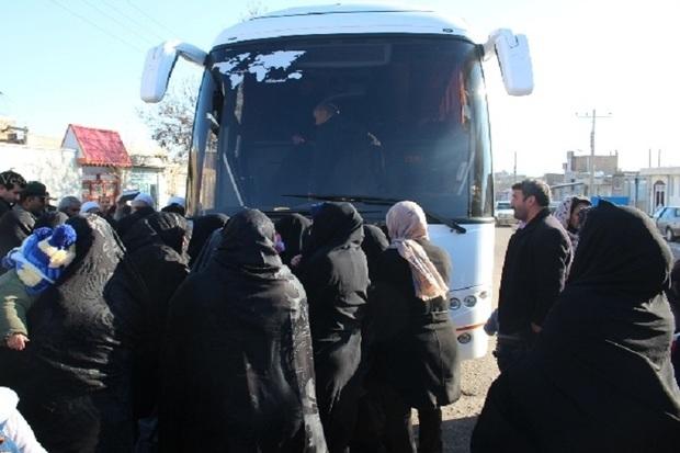 کاروان مددجویان قزوینی به مشهد مقدس اعزام شد