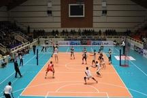 تیم والیبال جوانان شهرداری ارومیه مقابل کاله آمل شکست خورد