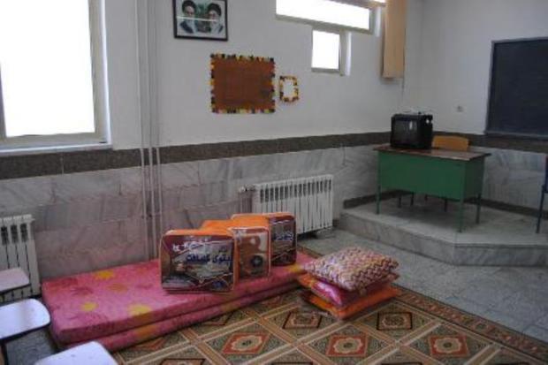161 هزار خانوار در مدارس اصفهان اسکان یافتند