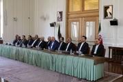 مراسم تودیع و معارفه مدیران جدید وزارت امور خارجه برگزار شد+ عکس