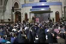 مراسم احیای شب بیست و یکم ماه مبارک رمضان در حرم مطهر امام خمینی (س)