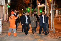 شهردار مشهد میدان توحید تا شهدا را پیاده طی کرد