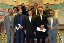 دیدار مدیرعامل و اعضای هیات مدیره خانه مطبوعات با نماینده پلدختر در مجلس شورای اسلامی