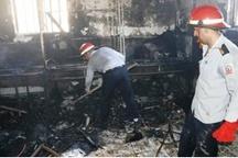 ساختمان پزشکی قانونی خرمآباد دچار حریق شد