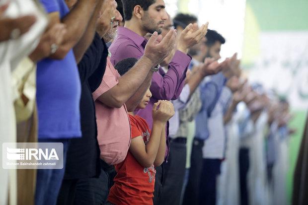 نماز عید قربان در چهارمحال و بختیاری اقامه شد