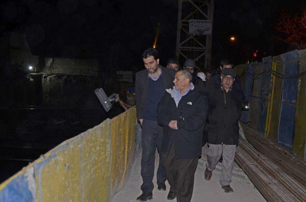 عملیات عمرانی در مترو تبریز به صورت شبانهروزی در حال انجام است