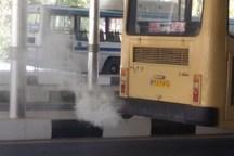 شهرداری بجنورد آلایندگی اتوبوس های واحد را برطرف  نکرد
