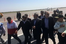 وزیر کشور از طریق فرودگاه بین المللی اهواز وارد خوزستان شد