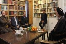 وزیر فرهنگ و ارشاد اسلامی با علمای مشهد دیدار کرد
