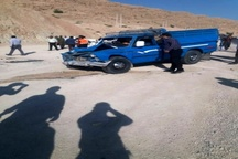 کشته شدن یک خانواده سه نفره بهمئی در سانحه تصادف