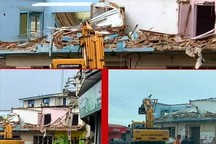 خانه کودکی ابتهاج در رشت تخریب شد