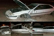 واژگونی پژو پارس در جاده دزفول - اندیمشک چهار مصدوم بر جای گذاشت