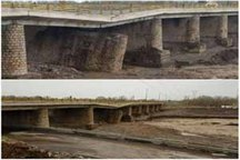 حادثه شکست پل آذرشهر به موقع مدیریت شد