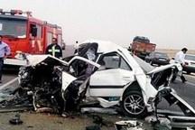 تصادف در محور نی ریز - سیرجان 2 کشته در پی داشت