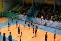 تیم والیبال شهرداری قزوین مقابل حریف یزدی شکست خورد
