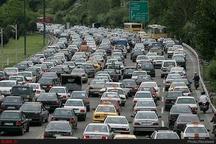 ترافیک نیمه سنگین در محور شهریار- تهران  انسداد ۷ محور به دلیل نبود ایمنی کافی