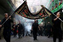 شور حسینی بازار ساحلی آستارا را فراگرفت