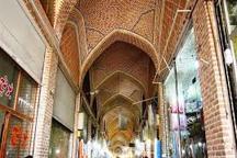 بهره برداری از عملیات مرمت سرای وکیل بازار تاریخی اردبیل در هفته دولت