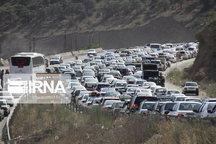 بازگشت مسافران جادههای مازندران را پر ترافیک کرد