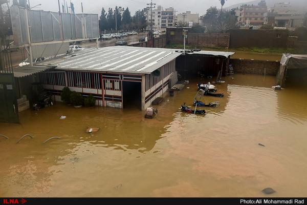 دو هزار و ١٠٠ واحد شهری و روستایی خسارت دیده سیل در فارس  بیشترین خسارتها مربوط به شهر شیراز است