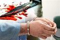 قاتل مرد میانسال هرسینی دستگیر شد