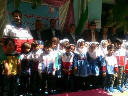 دومین جشنواره ورزشی، امدادی نونهالان هلال احمر در ایلام برگزار شد