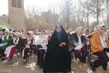 جشنواره بادبادک ها در روز هوای پاک در اردکان برگزار شد
