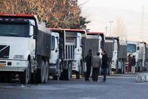 13متعرض به کامیونهای حامل کالا در اصفهان بازداشت شدند