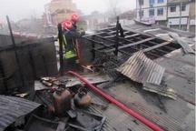 پوشش ۴۲ مورد حریق، حادثه و خدمات ایمنی توسط آتشنشانان شهر باران