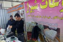 نمایشگاه صنایع دستی و سوغات بهاره در مهاباد گشایش یافت