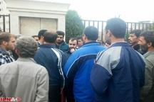 تجمع کارگران شرکت باختر بیوشیمی مقابل ساختمان قوه قضائیه و وزارت بهداشت