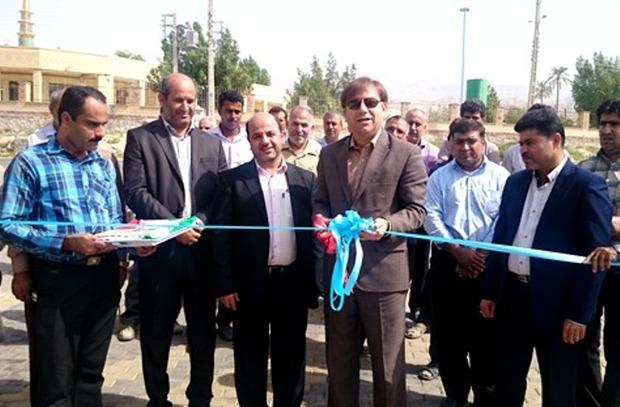 19 پروژه عمرانی بنیاد مسکن در دشتستان افتتاح شد