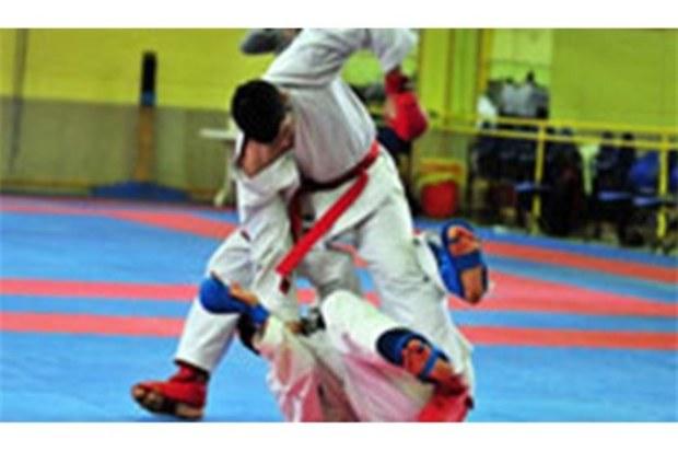 تیم شهرداری شهربابک در مسابقات کاراته جنوب شرق اول شد