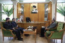 وزیر فرهنگ و ارشاد اسلامی با استاندار خراسان رضوی دیدار کرد