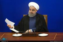 روحانی در پیتمی به ماکرون فرارسیدن روز ملی جمهوری فرانسه را تبریک گفت