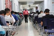 شرکت ۹۵۸ نفر در آزمون استخدامی مشاغل آتش نشانی خراسان جنوبی