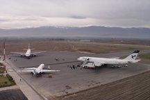 پروازهای ورودی و خروجی فرودگاه مشهد از سر گرفته شد