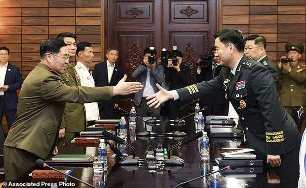 مذاکرات نظامی دو کره!