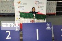 بانوی شیرازی مدال طلای مسابقات جهانی دارت کسب کرد
