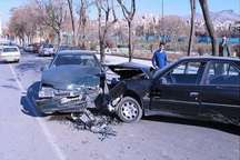 تصادف پژو با پراید در جاده کندوان 6مجروح بر جای گذاشت