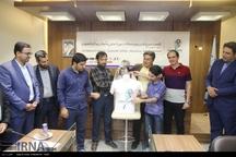 اخبار تصویری - رونمایی از پوستر، لباس و نماد نخستین دوره مسابقات بین المللی اسکواش جوانان( اصفهان جونیور)