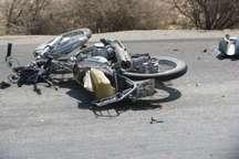 سانحه رانندگی با موتورسیکلت در بندرعباس یک کشته داشت