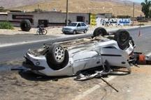 واژگونی پژو در جاده هفتکل چهار مصدوم بر جای گذاشت