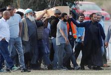 خاکسپاری نخستین قربانیان حمله تروریستی در نیوزیلند