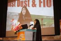 ابتکار: بخشی از کانون های ریزگرد در خوزستان حذف شد  مذاکره برای اجرای طرح مقابله با گرد و غبار در عراق