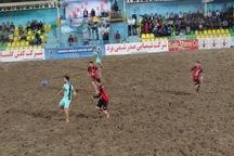 تیم فوتبال ساحلی گلساپوش یزد، ایفا اردکان را شکست داد