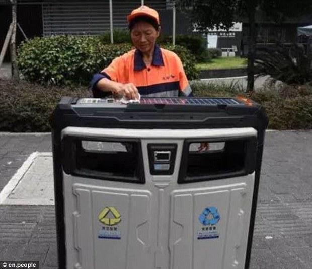 سطل زباله با وای فای! + عکس