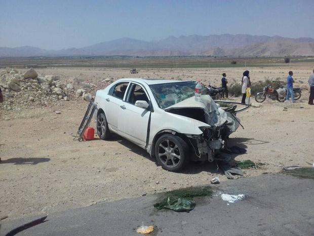 سانحه رانندگی در جاده نطنز- کاشان یک کشته و پنج مصدوم داشت