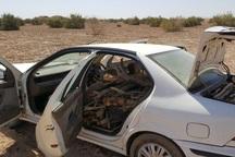 2 نفر قاچاقچی چوب تاغ در آران و بیدگل دستگیر شدند