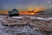 تصویری زیبا، اما تلخ از دریاچه ارومیه